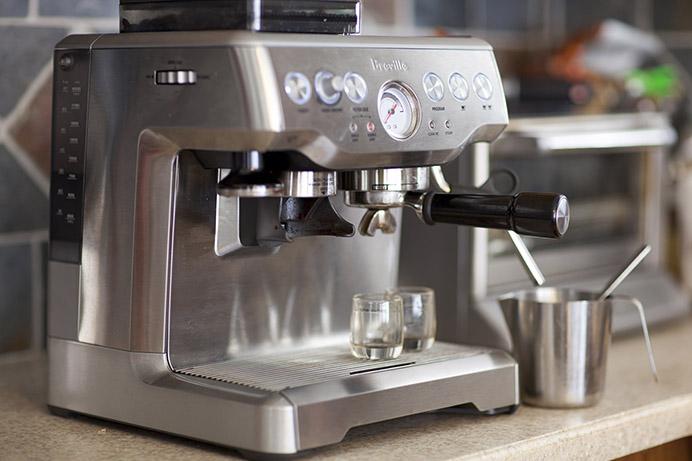 breville barista espresso machine manual