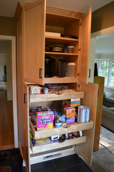 Floor To Ceiling Pantry Cabinet With Dream It Uamp Build It: Kitchen  Makeover Part The