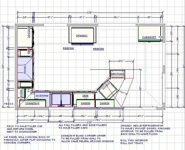 Kitchen Floor Plan With Dimensions Magnificent Dream It Build Makeover Part 1 Of