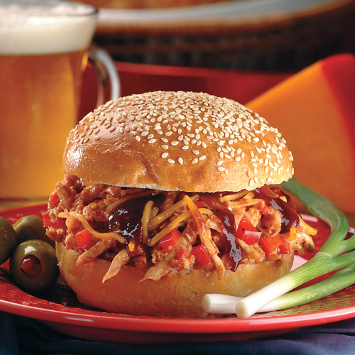 Spicy BBQ Chicken Sandwich