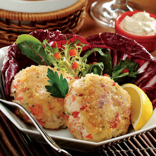 Crab Cakes with Lemon Caper Remoulade