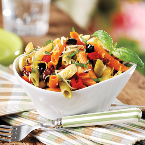Lemon-Basil Pasta Salad