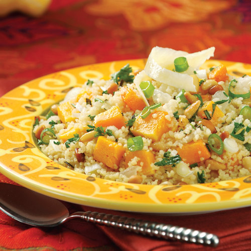 Couscous with Butternut Squash & Pine Nuts