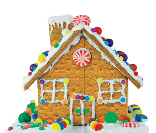 Gingerbread House Ideas and Frosting Recipe