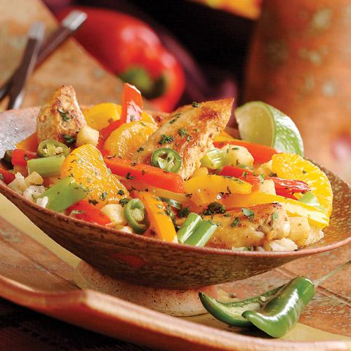Southwest Chicken Stir-Fry